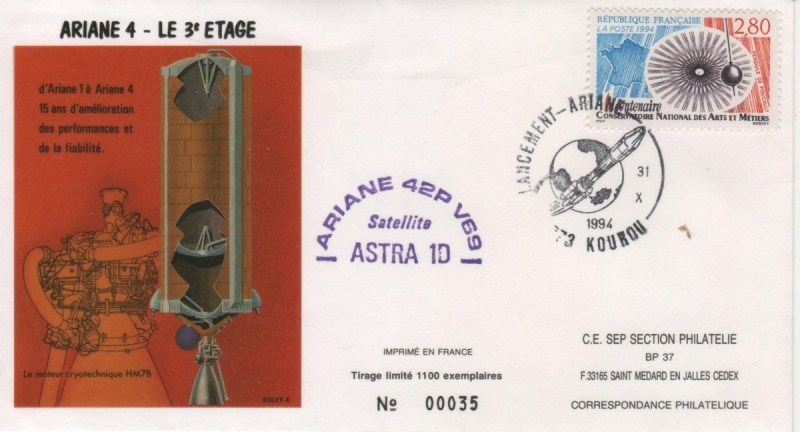 A069 - Vol 69 du 31 Octobre 1994