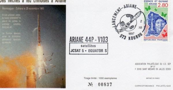 A103 - Vol 103 du 02 Décembre 1997