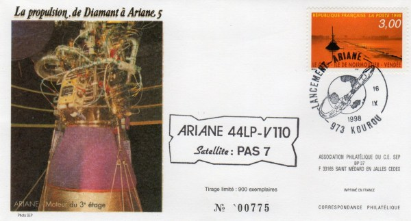 A110 - Vol 110 du 16 Septembre 1998