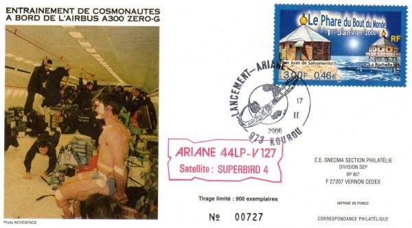 A127 - Vol 127 du 17 Février 2000