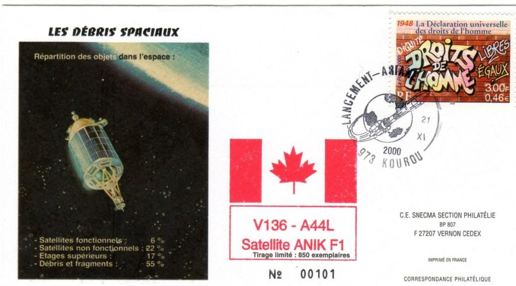 A136 - Vol 136 du 21 Novembre 2000