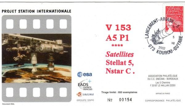 A153 - Vol 153 du 05 Juillet 2002