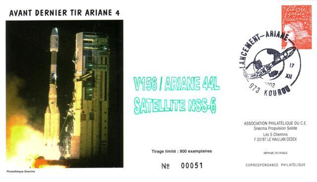 A156 - Vol 156 du 17 Décembre 2002