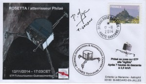 A158 2 300x172 - Vol 158 - 12 Novembre 2014 - Descente et Atterrissage de PHILAE sur la Comète 67P