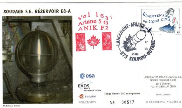 A163 - Vol 163 du 17 Juillet 2004
