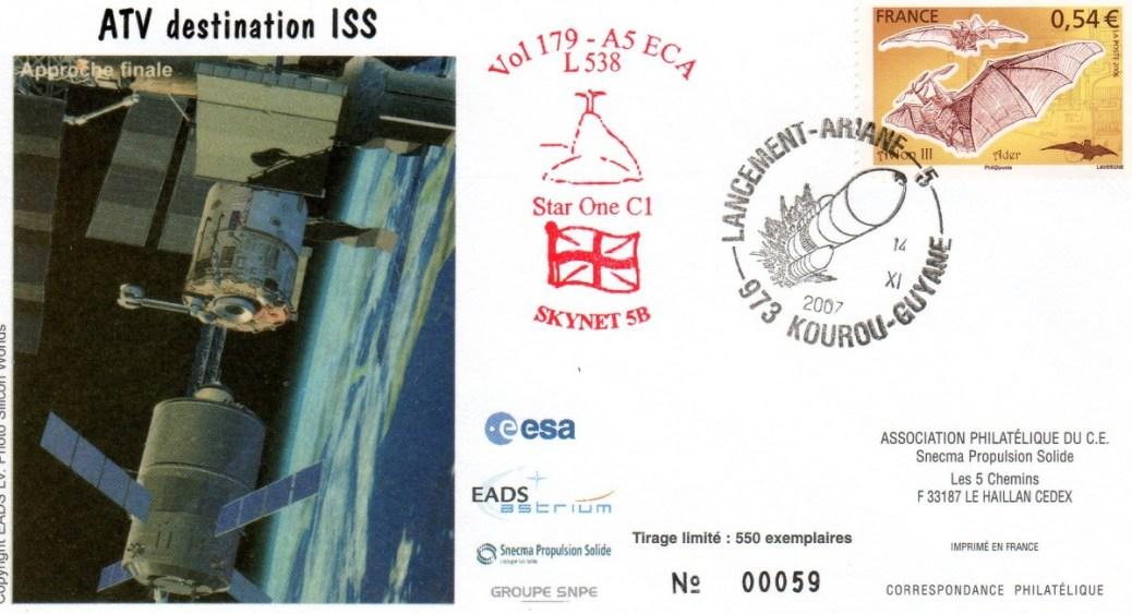 A179 - Vol 179 du 14 Novembre 2007