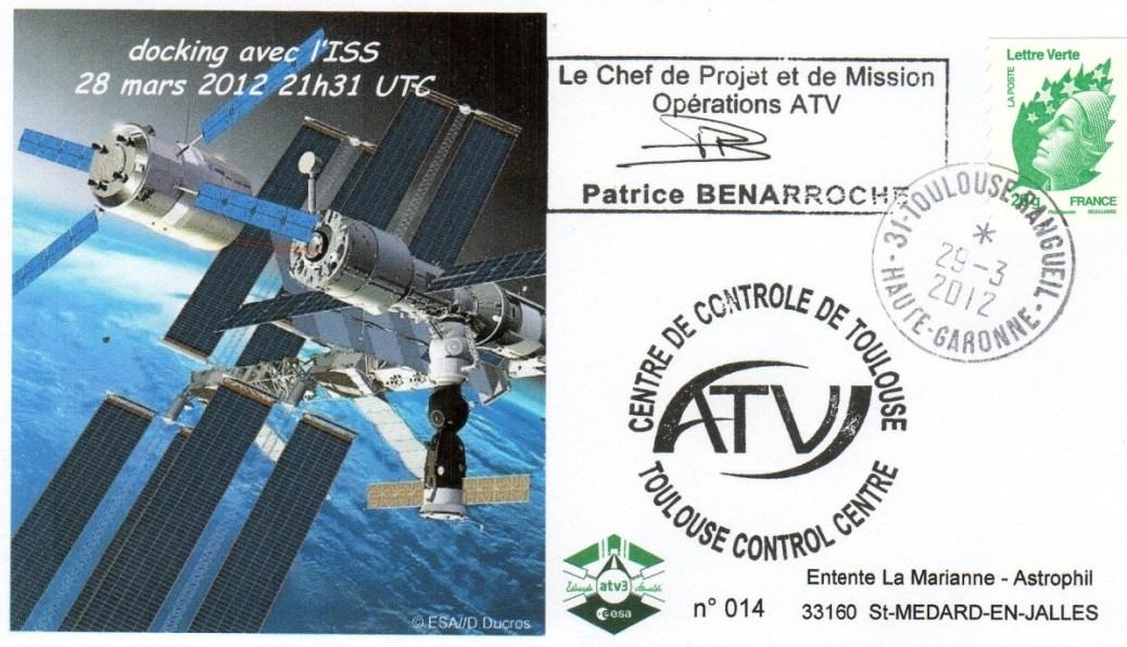 A205 2 - Vol 205 - ATV 3 - 28 Mars 2012 - Docking à l'ISS