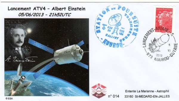 A213 1 - Vol 213 - ATV 4 Albert Einstein - 05 Juin 2013 - Station radar de poursuite Galliot Kourou (Guyane)