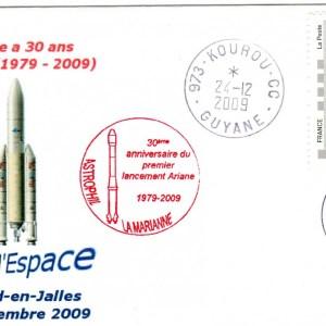 DC005 - Document - Ariane - 24 Décembre 2009 30ème Anniversaire d'Ariane - Semaine de l'Espace