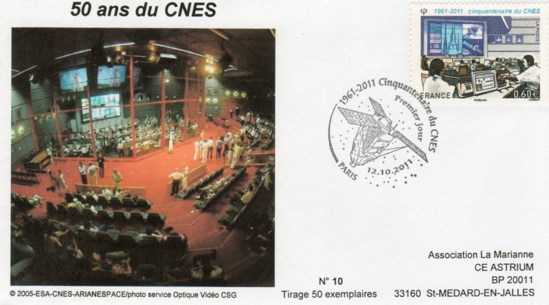 DC006 1 - Document - 12 Octobre 2011 - Cinquantenaire du CNES