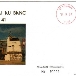DD006 - Développement Ariane 1 à 5 - 14 Juin 1991 500ème Essais au banc PF41- Moteur HM7