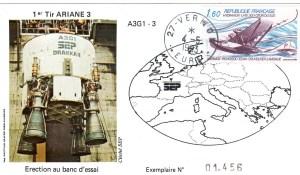 DD009 - Développement Ariane 3 - 04 Mai 1983 Campagne d'Essais Étage Drakkar - Essai A3G1-3