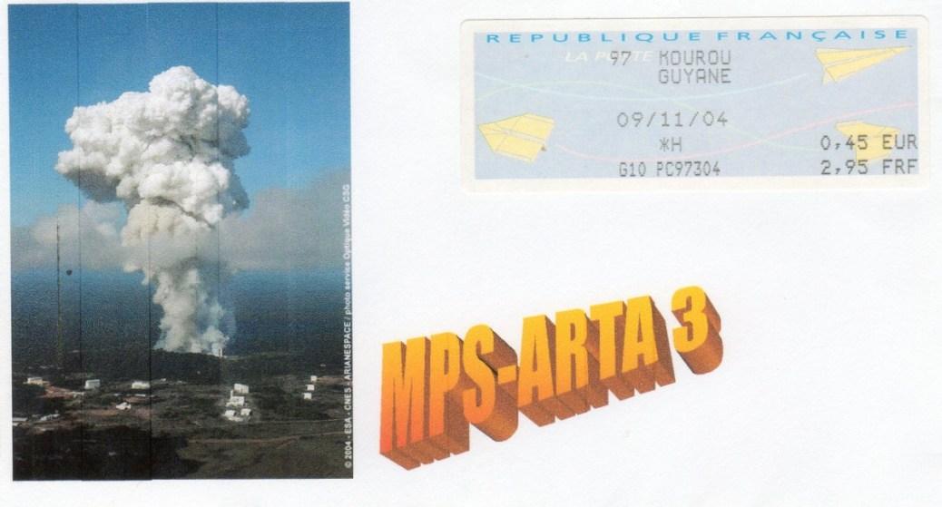 DD013 - Développement Ariane 5 - 09 Novembre 2004 Essais MPS ARTA3