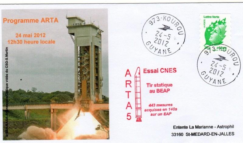DD014 - Développement Ariane 5 - 24 Mai 2012 Essais MPS ARTA5