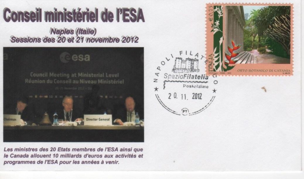 DD015 - Décision politique Ariane 5 - Ariane 6 - 20 Novembre 2012 Conseil de l'ESA Naples (Italie)