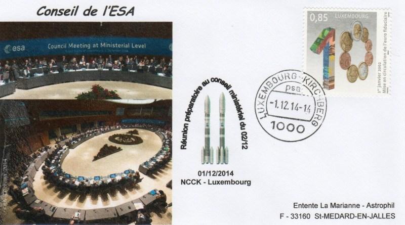 DD016 - Décision Politique Ariane 6 - Vega C - 01 Décembre 2014 Conseil de l'ESA (Luxembourg)