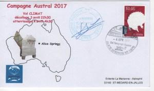 DE004 300x179 - Spatial - 04 Avril 2017 - Ballon campagne Austral 2017 CNES - atterrissage Vol Climat