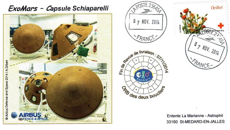 ExoMars 20141107 red - Spatial - 07 Novembre 2014 - Revue de qualification capsule Schiaparelli - Exomars