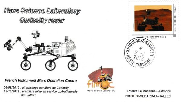 Fimoc 20121112 - Spatial - 12 Novembre 2012 - Mars Science Laboratory Curiosity Rover - FIMOC