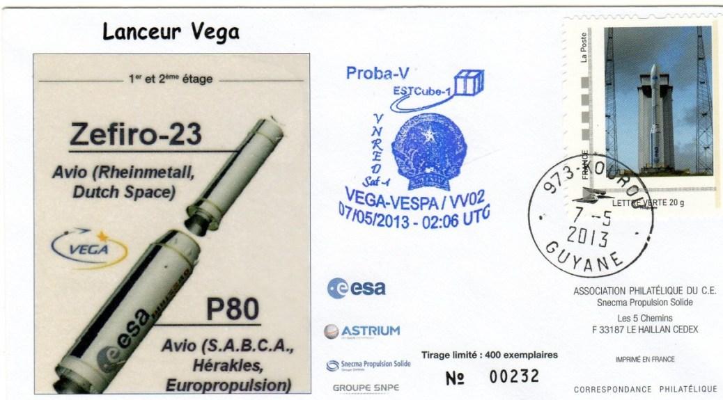 V002 - Vega - Vol VV02 du 07 Mai 2013