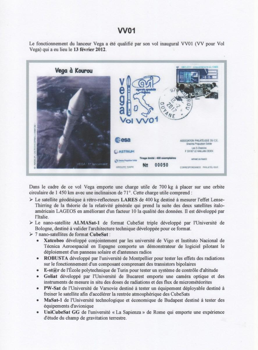 005 - Fiches Album - VEGA Vol 001 à Vol 002