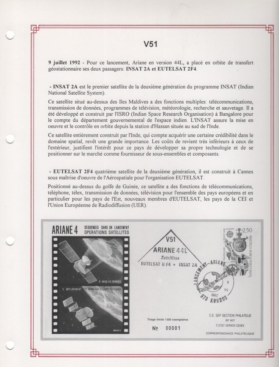 FA002 - Fiches Album - Vol 51 à Vol 90 - (42 Fiches) - Tome 2 -