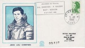001 1 - Divers : Visite de P. Baudry et JL Chrétien à la SEP de Vernon le 4 & 5 Octobre 1983