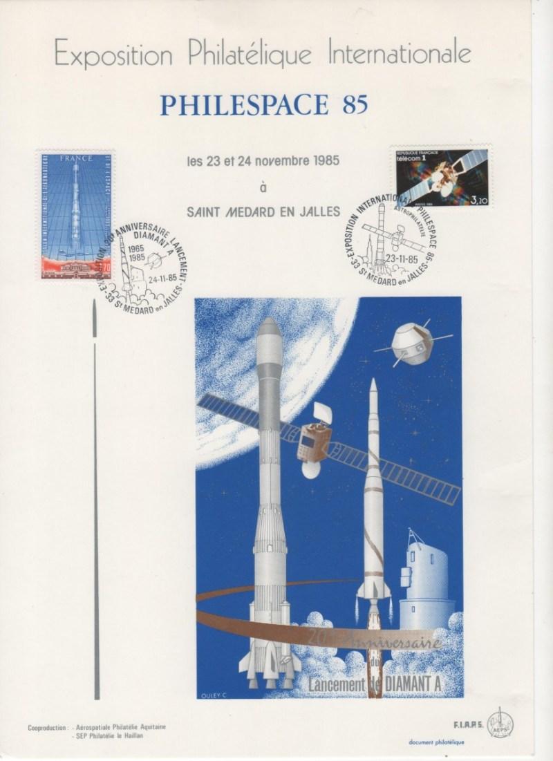 007 - Dvers : Philespace 85 - 23 & 24 Novembre 1985