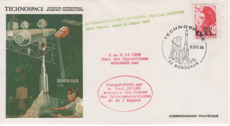 008 - Divers :  Salon Technospace - 06 Décembre 1988
