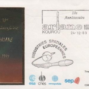 013 - Document : Ariane 10ème anniversaire - Kourou 24 Décembre 1989