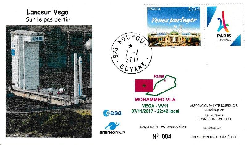 VV11 - Vol VEGA - VV11 du 07 Novembre 2017