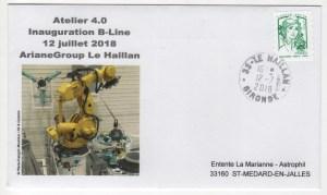 004 - Ariane 6 - VEGA C - Inauguration de la B-Line à ArianeGroup Aquitaine - 12 Juillet 2018