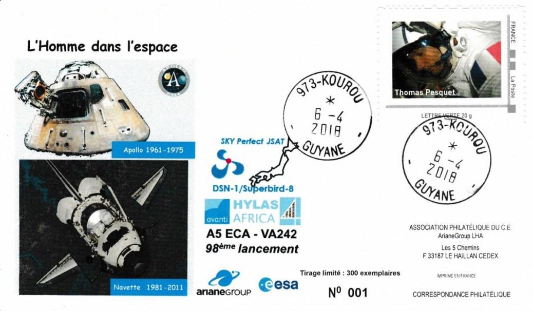VA242 - Vol VA 242 du 05 Avril 2018