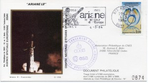 img20191126 18215172 300x170 - Kourou (Guyane) Lancement Ariane 1 - Tir V8 - 04 Mars 1984 (Pochette CNES Complète)