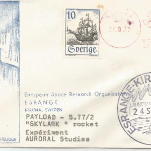 Numérisation 20191222 7 - KIRUNA (Suède) - Tir ESRO - Skylark 4 - 24 Septembre 1972