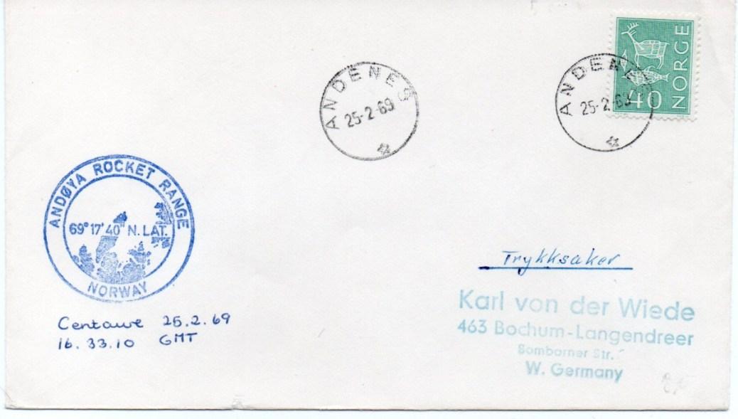 img20191211 15231105 - Base Andoya (Andènes Norvège) - Tir ESRO - CENTAURE 2B - 25 Février 1969