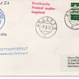 img20191211 15241461 - Base Andoya (Andénes Norvège) - Tir DLR (Allemagne) - BLACK-BRANT 5A - 08 Mars 1970