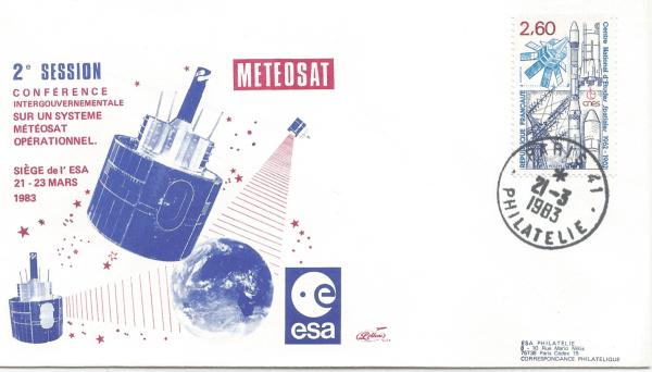 Numérisation 20191222 75 - Siège  de l'ESA Paris - Deuxième Conférence Intergouvernementale sur le système Météosat opérationnel - 21 Mars 1983