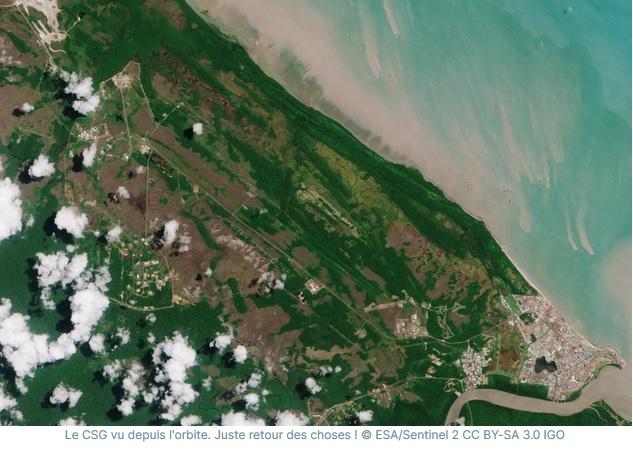 a2 - Le Centre Spatial Guyanais : de la jungle à l'espace