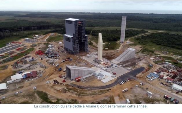 a6 - Le Centre Spatial Guyanais : de la jungle à l'espace
