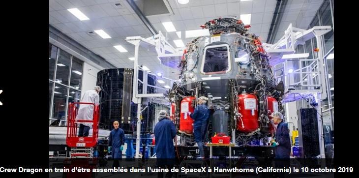 dra - En pleine pandémie, le Dragon de SpaceX se prépare à faire voler des astronautes