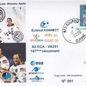 VA251 - Lancement Ariane 5 ECA - VA 251 - 16 Janvier 2020 - 18h05 hl -