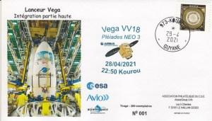 VV18 - Lancement VEGA - Vol VV18 - Le 28 Avril 2021 - 22h50 Kourou.