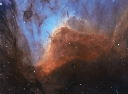 Pelican Nebula Close-up by Sara Wager, APOD 2017-08-03