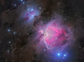 The Orion Nebula by Steve Milne