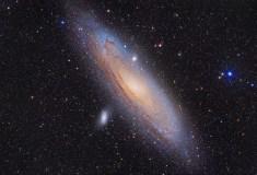 The Andromeda Galaxy, M31, by Yves van den Broek