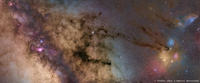 Milky Way to Rho Ophiuchi Mosaic by Stefan Lenz & Mabula Haverkamp