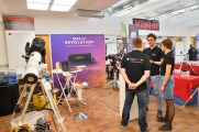 StarAid crew at their booth at the ATT Essen