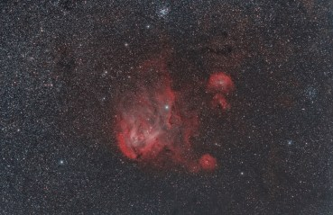 Wouter van Reeven - The Running Chicken Nebula