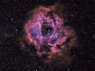 Rosette Nebula Bicolour